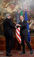 20130509 ROMA-ESTERI: ENRICO LETTA INCONTRA JOHN KERRY A PALAZZO CHIGI