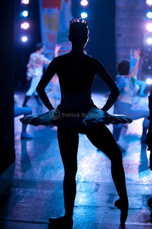 "English National Ballet. ""The Nutcracker"". Backstage."