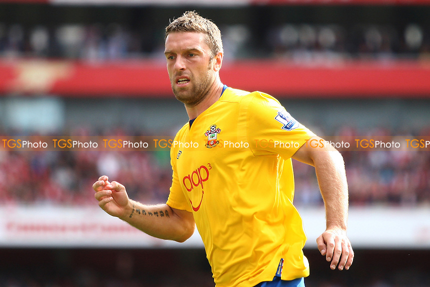 Rickie Lambert of Southampton- Arsenal vs Southampton - Barclays Premier League Football at the Emirates Stadium, London - 15/09/12 - MANDATORY CREDIT: George Phillipou/TGSPHOTO - Self billing applies where appropriate - 0845 094 6026 - contact@tgsphoto.co.uk - NO UNPAID USE.
