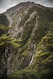 NEW ZEALAND, Arthurs Pass, Devils Punchbowl Waterfall, Ben M Thomas