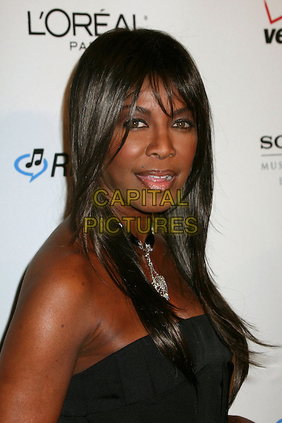NATALIE COLE<br /> Clive Davis 2007 Pre-Grammy Awards Party at the Beverly Hilton Hotel, Beverly Hills, USA.<br /> February 10th, 2007<br /> headshot portrait<br /> CAP/ADM/BP<br /> &copy;Byron Purvis/AdMedia/Capital Pictures