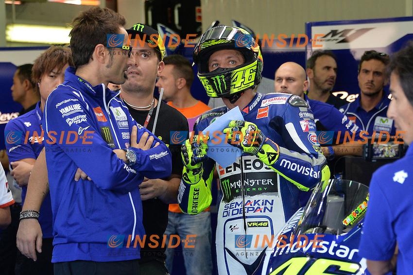 Valencia (Spagna) 07-11-2015 - qualifiche Moto GP / foto Luca Gambuti/Image Sport/Insidefoto<br /> nella foto: Valentino Rossi