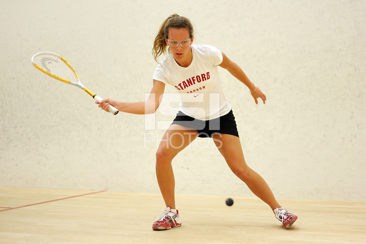 STANFORD, CA - OCTOBER 6:  Cecilia Haig of the Stanford Cardinal during picture day on October 6, 2008 at the Squash Courts in Stanford, California.