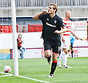 11/09/2010   Copyright  Pic : James Stewart.sct_jsp004_hamilton_v_rangers  .:: NIKICA JELAVIC  CELEBRATES AFTER HE HEADS HOMES RANGERS' FIRST ::.James Stewart Photography 19 Carronlea Drive, Falkirk. FK2 8DN      Vat Reg No. 607 6932 25.Telephone      : +44 (0)1324 570291 .Mobile              : +44 (0)7721 416997.E-mail  :  jim@jspa.co.uk.If you require further information then contact Jim Stewart on any of the numbers above.........