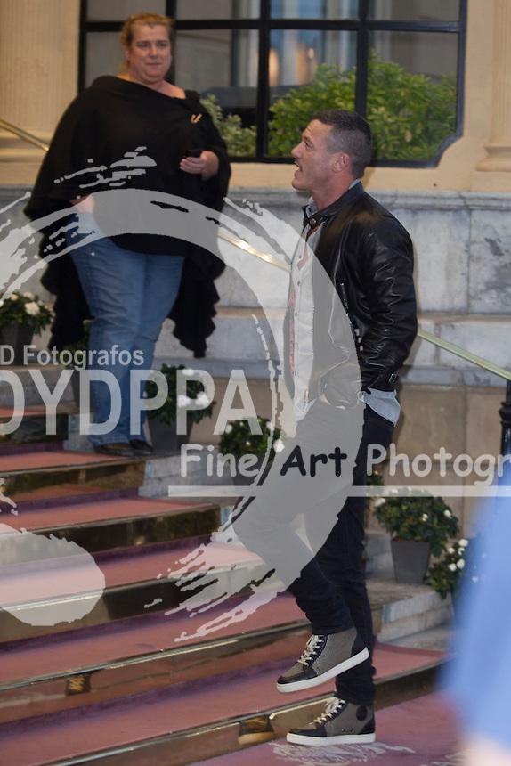 Luke Evans arrives