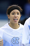 05 November 2014: North Carolina's Jessica Washington. The University of North Carolina Tar Heels hosted the Carson-Newman University Eagles at Carmichael Arena in Chapel Hill, North Carolina in an NCAA Women's Basketball exhibition game. UNC won the game 88-27.