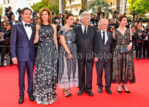 "25 May 2017 - Cannes, France - Desiree Gruber, Kyle MacLachlan, Emily Stofle, David Lynch, Sabr. ""Twin Peaks"" Premiere - The 70th Annual Cannes Film Festival. Photo Credit: Jan Sauerwein/face to face/AdMedia"