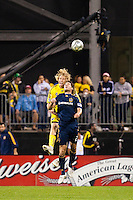 26 SEPTEMBAR 2009:#2 Todd Dunivant of the LA Galaxy and #32 Steven Lenhart, Columbus Crew forward   during the Los Angeles Galaxy at Columbus Crew MLS game in Columbus, Ohio on May 27, 2009.