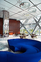 Capital Gate Hotel Interiors in Abu Dhabi next to ADNEC Exhibition Centre
