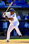 17 March 2007: New York Mets outfielder Chip Ambres in action against the Washington Nationals on St. Patrick's Day at Tradition Field in Port St. Lucie, Florida...Mandatory Photo Credit: Ed Wolfstein Photo