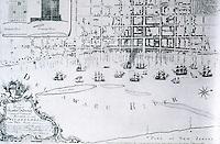 Utopia:  Plan of Philadelphia 1762.  REPS., MAKING OF URBAN AMERICA,  p. 168.