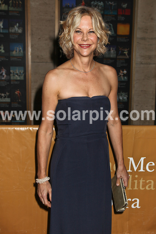 **ALL ROUND PICTURES FROM SOLARPIX.COM**                                             **SYNDICATION RIGHTS FOR UK, AUSTRALIA, DENMARK, PORTUGAL, S. AFRICA, SPAIN & DUBAI (U.A.E) & ASIA (EXCLUDING JAPAN) ONLY**                                                                                  Caption:  Meg Ryan attends Metropolitan Opera's 2010-11 Season Opening Night - Das Rheingold, The Metropolitan Opera House, NY, USA, 27 September 2010                                                                             .This pic:   Meg Ryan                                                                                            JOB REF: 12208  PHZ vrlik   DATE: 27_09_2010                                                            **MUST CREDIT SOLARPIX.COM OR DOUBLE FEE WILL BE CHARGED**                                                                      **MUST AGREE FEE BEFORE ONLINE USAGE**                               **CALL US ON: +34 952 811 768 or LOW RATE FROM UK 0844 617 7637**