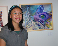 """The Harker School - US - Upper School - US Artwork winners in the city of Los Gatos """"Social Matters"""" Art Contest for High School studnets...2012-05-9...Photo provided by Pilar Aguero-Esparza"""