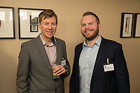 Mark Hobson (left) of Mabers and Christopher Mitchell of Red Tree Public Relations