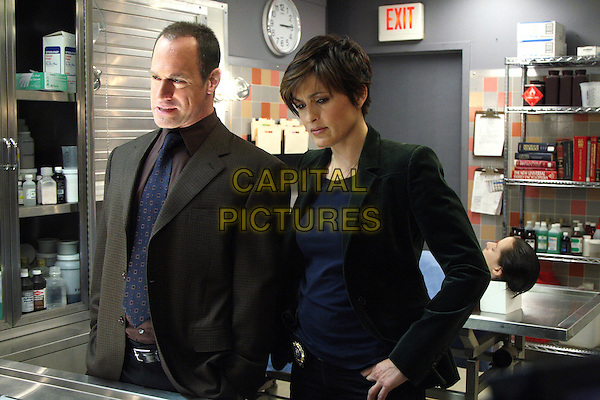 "Christopher Meloni & Mariska Hargitay .in Law & Order: Special Victims Unit (series 9, episode 5, "" Harm"").SVU.*Filmstill - Editorial Use Only*.CAP/NFS.Supplied by Capital Pictures."