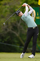 Sung Hyun Park (KOR) watches her tee shot on 10 during round 4 of the KPMG Women's PGA Championship, Hazeltine National, Chaska, Minnesota, USA. 6/23/2019.<br /> Picture: Golffile | Ken Murray<br /> <br /> <br /> All photo usage must carry mandatory copyright credit (© Golffile | Ken Murray)