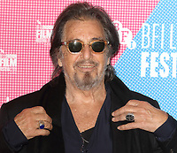 The Irishman Photocall during the 63rd BFI London Film Festival at The May Fair Hotel on October 13, 2019<br /> <br /> Photo by Keith Mayhew