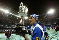 RCD Espanyol's Alberto Lopo after winning the Spanish King's Cup final match between RCD Espanyol and Real Zaragoza at Santiago Bernabeu Stadium. Wednesday, April 12, 2006. (B.Echavarri / Alterphotos / Insidefotopress)