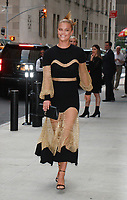 NEW YORK, NY - SEPTEMBER 8: Nina Agdal arriving to the Daily Front Row Fashion Awards at Four Seasons NY Downtown in New York City on September 8,  2017. <br /> CAP/MPI/RW<br /> &copy;RW/MPI/Capital Pictures