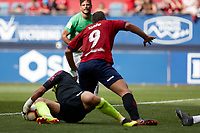 Xisco (forward; CA Osasuna) during the Spanish <br /> la League soccer match between CA Osasuna and Almeria at Sadar stadium, in Pamplona, Spain, on Saturday, <br /> September 8, 2018.