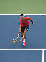 De Potro Running Forehand (mid court) US Open 2013