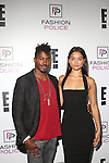 DJ Ruckus and Shanina Shaik  Attend E!'s 2016 Spring NYFW Kick Off party at The Standard, High Line, Biergarten & Garden