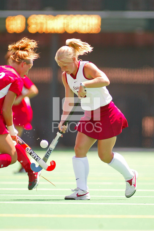 27 August 2005: Missy Halliday during Stanford's 2-1 overtime loss to Miami (Ohio) at the Varsity Turf Field in Stanford, CA.