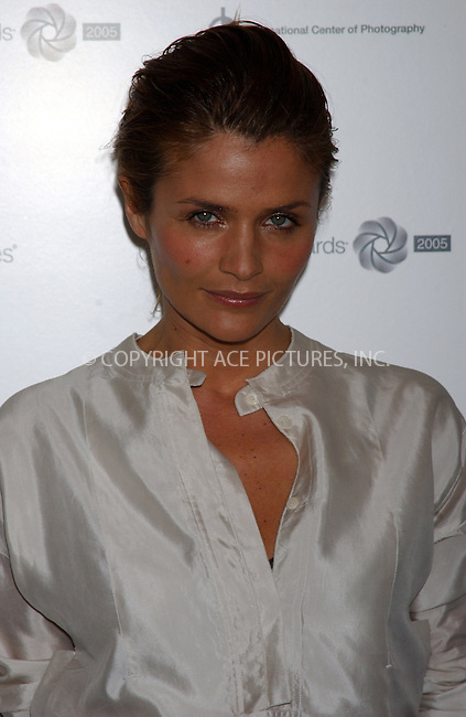 WWW.ACEPIXS.COM . . . . . ....NEW YORK, MAY 10, 2005....Helena Christensen at the 21st Annual Infinity Awards held at Skylight... ..Please byline: KRISTIN CALLAHAN - ACE PICTURES.. . . . . . ..Ace Pictures, Inc:  ..Craig Ashby (212) 243-8787..e-mail: picturedesk@acepixs.com..web: http://www.acepixs.com