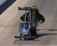 Feb 24, 2018; Chandler, AZ, USA; NHRA top fuel driver Troy Buff during qualifying for the Arizona Nationals at Wild Horse Pass Motorsports Park. Mandatory Credit: Mark J. Rebilas-USA TODAY Sports