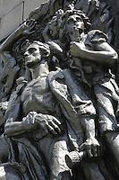 Varsavia,il ghetto oggi (the ghetto today) Monumento agli Eroi del Ghetto