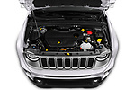 Car Stock 2019 JEEP Renegade Limited 5 Door SUV Engine  high angle detail view