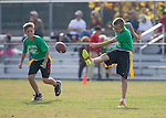 Flag Football Tournament A Finals, Loyola vs Springer at Foothill College Fields.  November 5, 2016 Flag Football Tournament A Finals, Loyola vs Springer at Foothill College Fields.  November 5, 2016