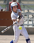 Western Nevada Wildcats' Andi Lee hits against North Idaho College at Edmonds Sports Complex, in Carson City, Nev., on Friday, April 18, 2014.<br /> Photo by Cathleen Allison/Nevada Photo Source
