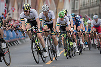 Team Australia racing in Bergen city center<br /> <br /> Men Elite Road Race<br /> <br /> UCI 2017 Road World Championships - Bergen/Norway