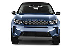 Car photography straight front view of a 2020 Land Rover Discovery Sport S 5 Door SUV
