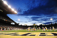 Sept. 5, 2009; Seattle, WA, USA; Overall view during the game between the LSU Tigers against the Washington Huskies at Husky Stadium. Mandatory Credit: Mark J. Rebilas-