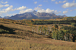 Wilson Peak (14,017 ft), autumn San Juan Mountains, Telluride,  Colorado.