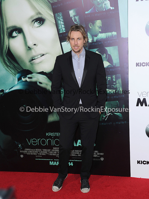 Dax Shepard attends The Warner Bros. L.A. Premiere of Veronica Mars Movie held at The TCL Chinese Theatre in Hollywood, California on March 12,2014                                                                               © 2014 Hollywood Press Agency