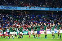 27th October 2019, Oita, Japan;  South Africa team thank the fans;  2019 Rugby World Cup Semi-final match between Wales 16-19 South Africa at International Stadium Yokohama in Yokohama, Kanagawa, Japan.  - Editorial Use
