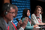 Copenhagen - Denmark, December 04, 2018 -- International Trade Union Confederation - 4th ITUC World Congress 'Building Workers' Power' at Bella Center; here, sub-plenary 'Wages and Inequality' -- Photo: © HorstWagner.eu / ITUC