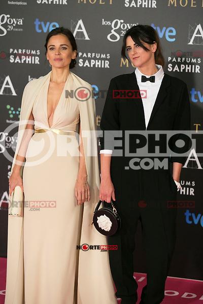 Elena Anaya attend the 2015 Goya Awards at Auditorium Hotel, Madrid,  Spain. February 07, 2015.(ALTERPHOTOS/)Carlos Dafonte) /NORTEphoto.com