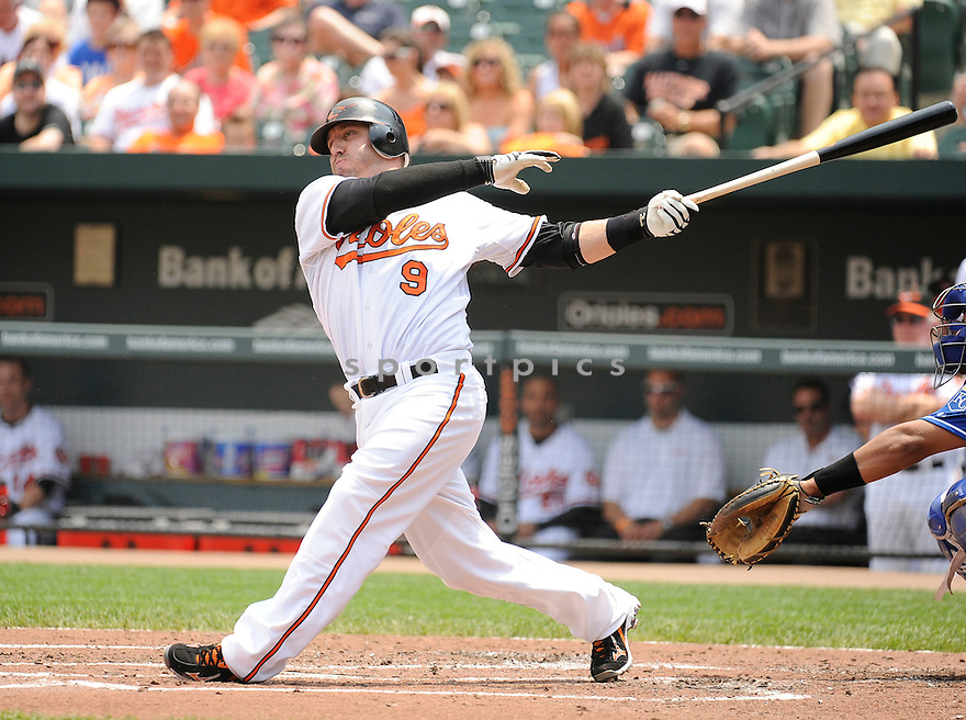 JAKE FOX, of the Baltimore Orioles in action during the Orioles game against the Kansas City Royals, on May 26, 2011 at  Oriole Park in Baltimore, Maryland. The Orioles beat the Royals 6-5.