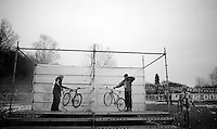 cleaning station<br /> <br /> 2015 UCI World Championships Cyclocross <br /> Tabor, Czech Republic