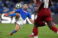 Kostas Manolas of SSC Napoli <br /> Napoli 17-9-2019 Stadio San Paolo <br /> Football Champions League 2019/2020 <br /> SSC Napoli - Liverpool FC <br /> Photo Antonietta Baldassarre / Insidefoto