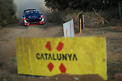 5th October 2017, Costa Daurada, Salou, Spain; FIA World Rally Championship, RallyRACC Catalunya, Spanish Rally; Mads OSTBERG - Torstein ERIKSEN of M-Sport WRT braking in the shakedown