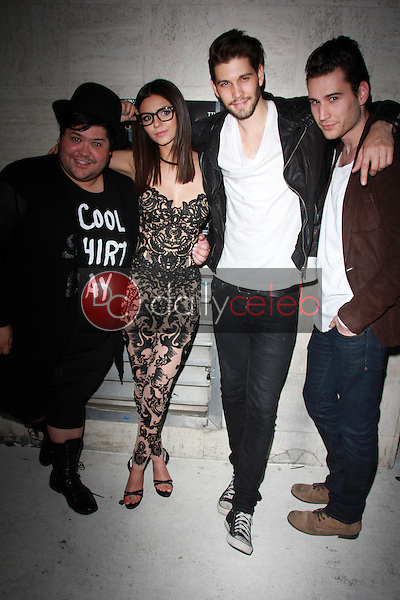 Harvey Guillen, Victoria Justice, Casey Jon Deidrick, John Garet Stoker<br />