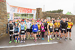 At the start of  the Puck Warriors Duathlon 5km run 15km cycle 5km run  at JP O Sullivan Park, Killorglin on Saturday