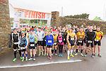 At the start of  the Puck Warriors Duathlon 5km run 15km cycle 5km run  at JP O Sullivan Park, Killorglin on Saturday