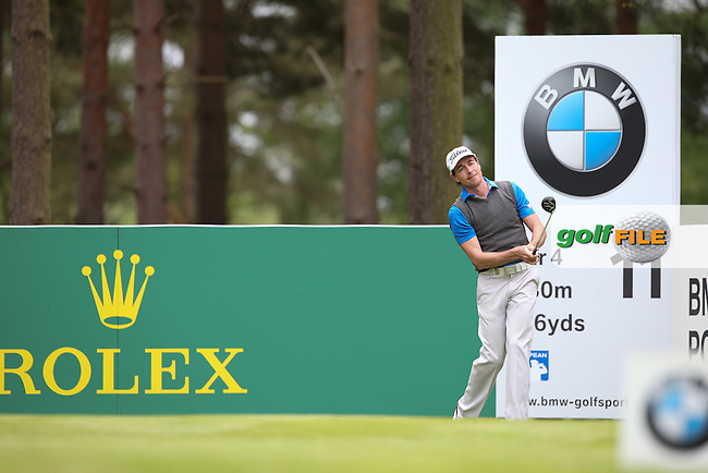 Brett Rumford (AUS) during Round Two of the 2015 BMW PGA Championship over the West Course at Wentworth, Virginia Water, London. 22/05/2015Picture David Lloyd, www.golffile.ie.
