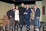 "CD Launch:"" After the Ball"", a new CD in aid of charity by Eoin Hand, former Ireland soccer manager, was launched in St John's Arts Centre in Listowel on Tuesday night by Eoin Liston.  Left to right : Mick MacConnell, Kerri MacConnell, Eoin Liston, Eoin Hand, Pauline Hand and Jim Gornall."
